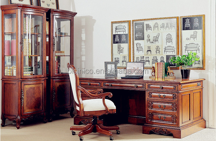 retro style furniture cheap. antique classic style office deskglass door bookcase display cabinetvintage retro furniture set buy reproduction home cheap