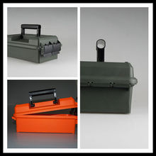 New arrival, plastic waterproof ammunition storage boxes dry box&Survival box