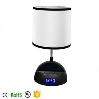 Wireless Bluetooth Speaker Lamp With Alarm Clock Fm Radio And Usb Charging Port Buy Bluetooth Speaker Lamp Ipod Iphone Bluetooth Speaker