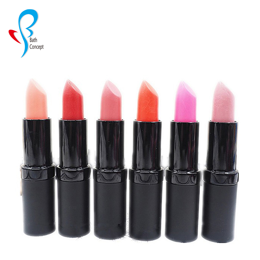 Make your own brand waterproof bright colored lipstick