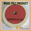 pressed felt wool fabric polishing marble glass