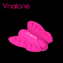 Factory direct silicone butterfly shape mini vibrator