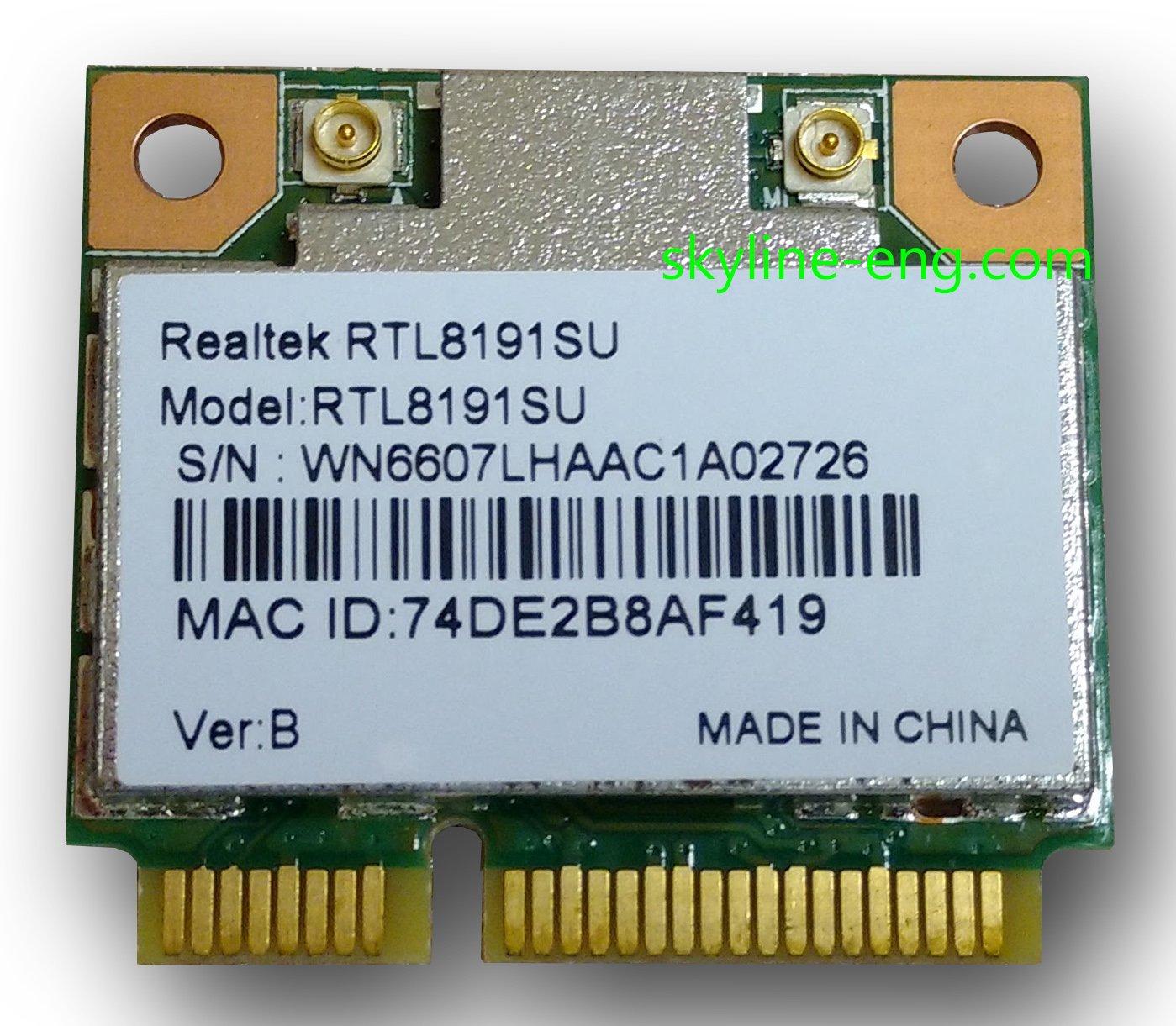 802.11b Wireless LAN CardBus (Mini-)PCI NIC Driver for Mac