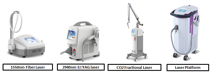 Newest 10600nm fractional co2 laser tube equipment with 30W output power