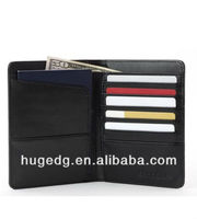 Cheap PU leather Travel Passport Wallet holding air tickets cash and credit cards