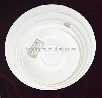 BONE CHINA Hotel used white porcelain dinner plate white porcelain wedding plateschinese porcelain  sc 1 st  Alibaba & Bone China Hotel Used White Porcelain Dinner PlateWhite Porcelain ...