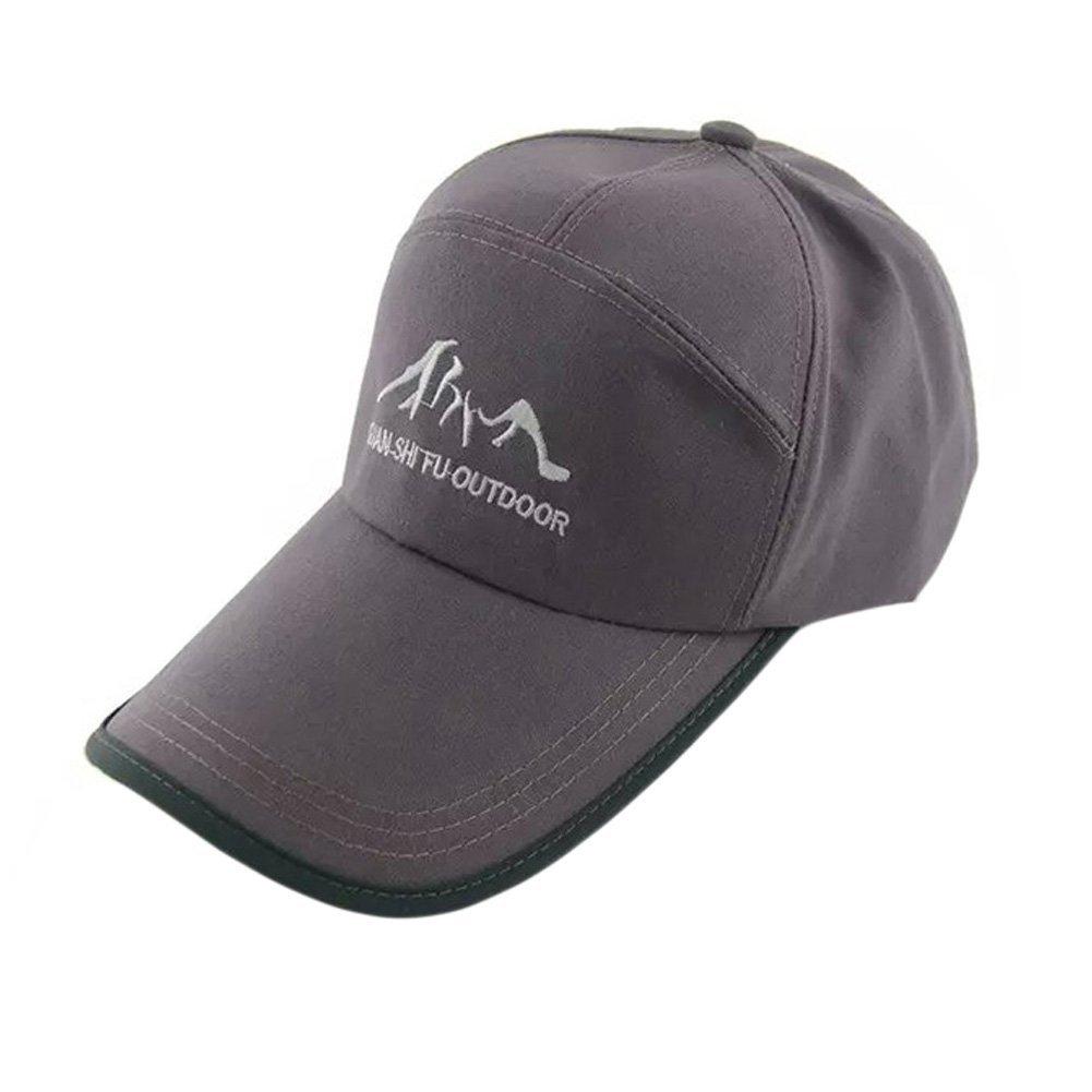 4019f8b7b1b07 Get Quotations · Men s Flexfit Hats Fitted Cap Sports Caps Outdoor Sports Flexfit  Hats Gray