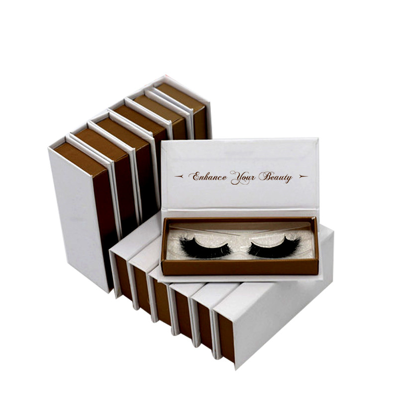 Make your own brand custom luxury factory wholesale free sample false eyelsh packaging box фото