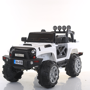 newest big size jeep type with light and air tire option children electric riding car