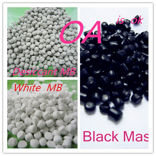 50% <strong>PP</strong>/PE/LDPE Carbon Black Masterbatch for Blowing Film /Injection