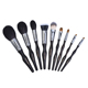 Design your own brand makeup kit with 9pcs cosmetic brushes