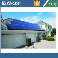 Full power solar 2kw home solar lighting system solar lighted address signs