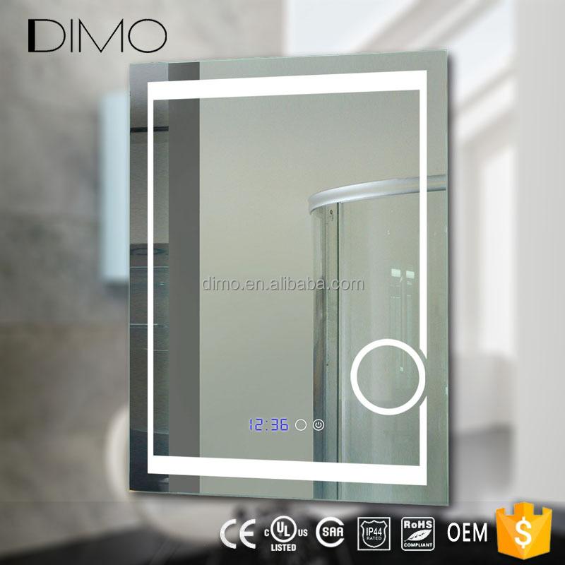 Modern Vanity IP44 rated led lighted hotel bathroom makeup mirror