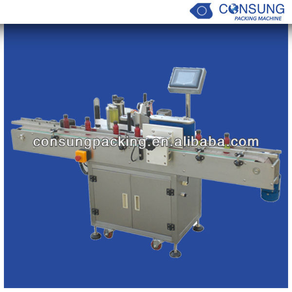 label pasting machine