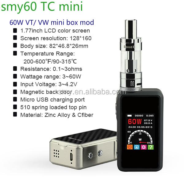 China Supplier E Cigarette Vaporizer Smy Pocket Mod Vape Smoke ...