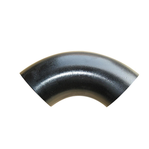 90 Degree Butt Weld Seamless Carbon Steel Elbow Astm A234 Wpb B16.9 16.25 16.49 Carbon Steel Pipe Fittings