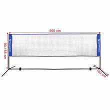 3.1-6.1m available portable tennis net