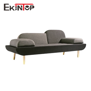 Modern european black fabric wooden sectional american corner sofa design
