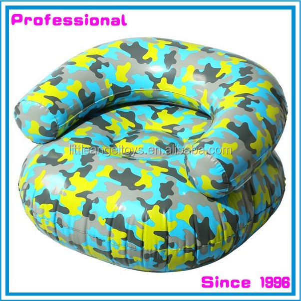 PVC inflatable baby kids chair sofa and ottoman