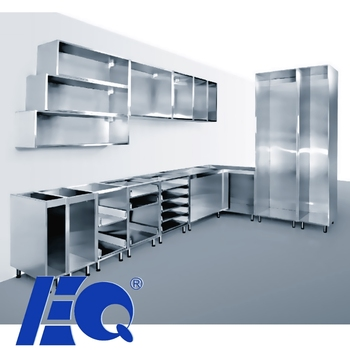 Durable 304 Stainless Steel Base Unit OEM Kitchen Cabinet