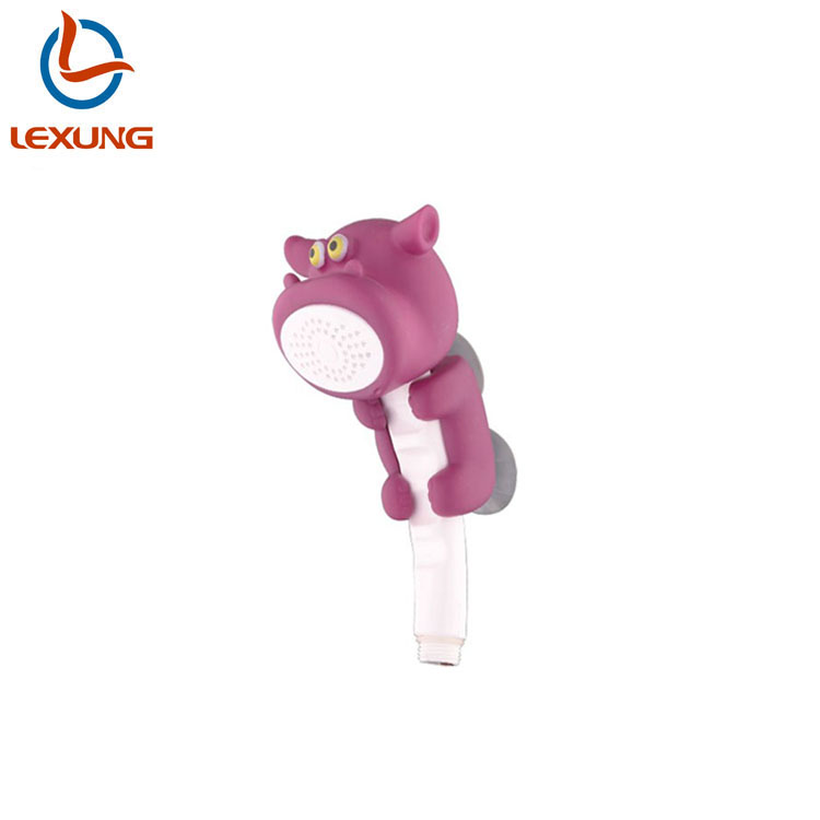 LEXUNG H2751 Hot Selling Animal Cute Kids Shower Head