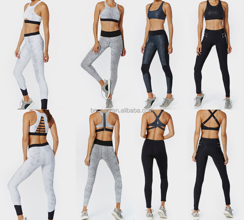 Wholesale fitness clothing womens sports bra top gym wear