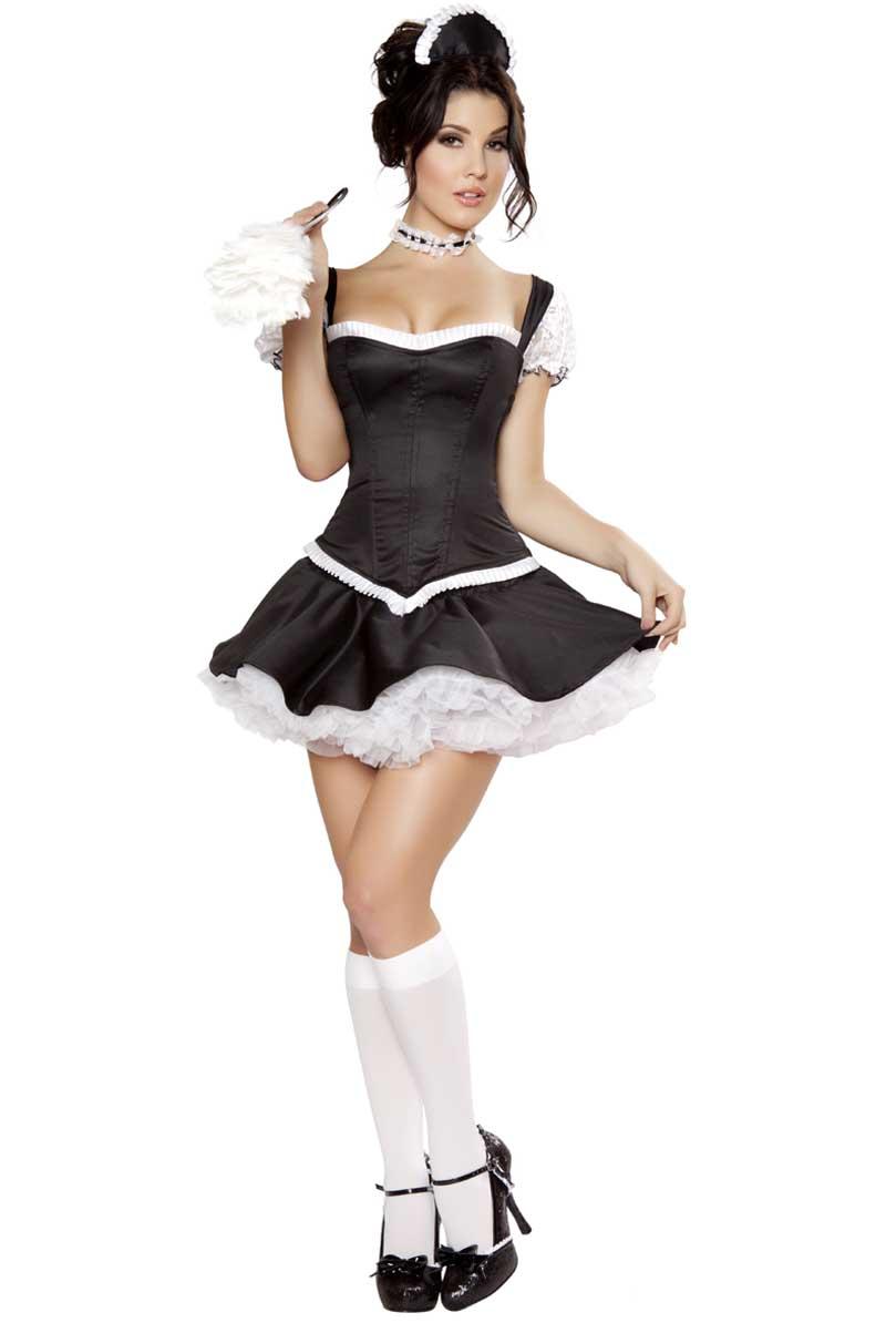 135c26eed46b58 Sexy Costumes Adulte Livraison Gratuite Coquin Costume Français Maid 3S1063  Adulte Français Adulte Sexy Maid