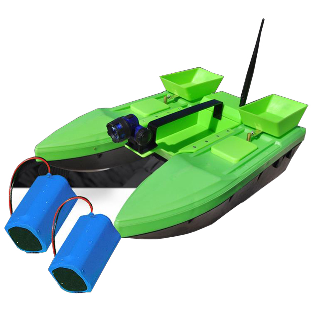 Fast Electric Fishing Bait Boat Remote Fish Finder Fishing Remote control double Boat Lure Boat For Children Adult