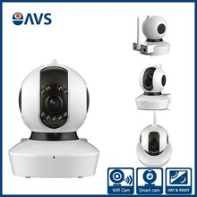 Smart Rotating Video Wifi Full HD 1080P IR LED Support Memory Card Baby Monitor Camera