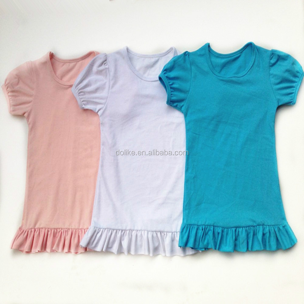 Shirt design for baby girl - Most Popular Latest Design Girls Top High Quality Flutter Sleeve Shirt Girl Solid Color Flutter Tops
