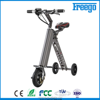 Folding bicycle Freego Electric 3 wheel electric motorcycle trike for sale