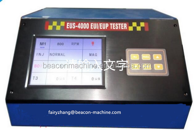 EUS-4000 EUI/EUP electronic control tester and with cam box and adaptor