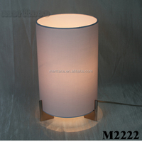Candle decor wedding indoor table lamp with E27 socket