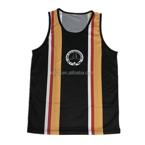 2018 China manufacturer mens running singlet shirts wholesale custom tank top