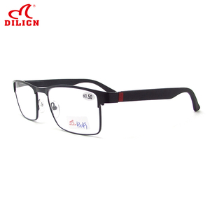 Men Style Full Rim Reading Glasses For Sight Metal Optical Myopia Stainless Steel Presbyopic Eyeglasses Diopters 1.0 1.5 2.0 2.5