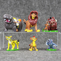 6pcs Set The Lion King Simba Nala Timon Model Figurine PVC Action Figures Classic Toys Best