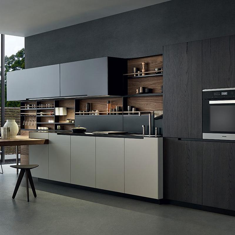 Modern Lacquer Polyurethane Kitchen Cabinet Australia And ...
