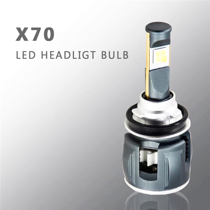 Luces LED par véhicules X70 60 W LED phare de lentille de projecteur