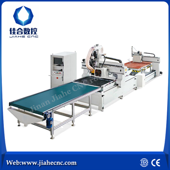 cnc wood engraving machine furniture production line JK-1325AL