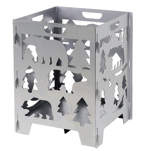 Mini metal fire pit designs stainless steel fire pit cover