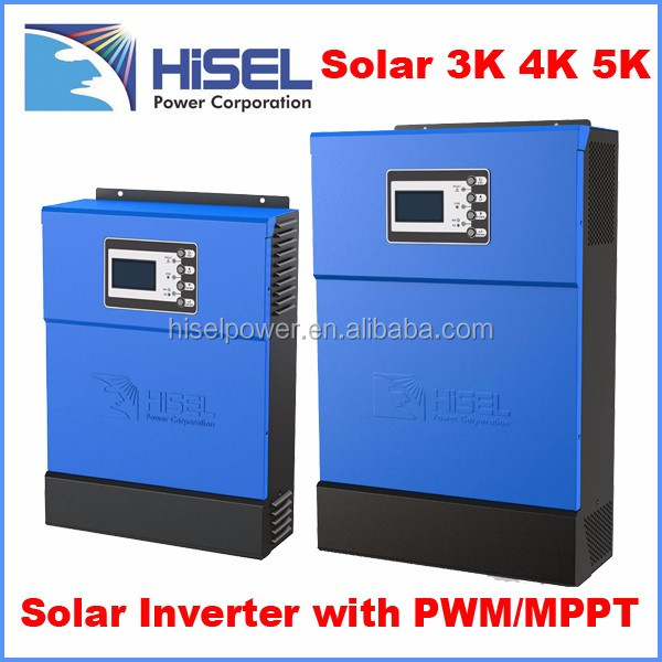 Energy saving Hisel 3kw to 10kw split phase on and off grid micro inverter solar power system