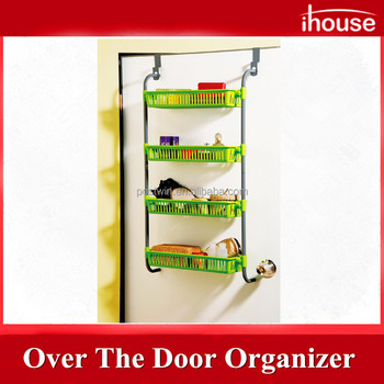 Ihouse iron and pp over the door organiser and storage basket  sc 1 st  Alibaba & Ihouse Iron And Pp Over The Door Organiser And Storage Basket - Buy ...