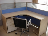 office computer desk and chair