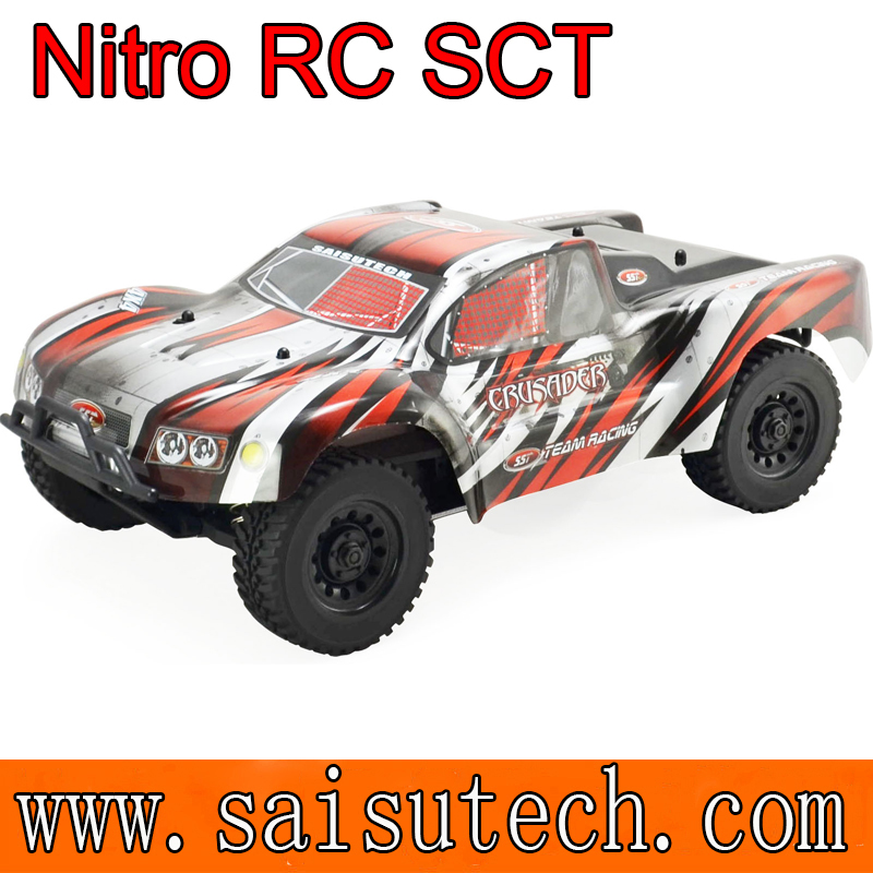 1/10 scale nitro rc trucks for sale 4x4 off road rc nitro sct from China manufacturer