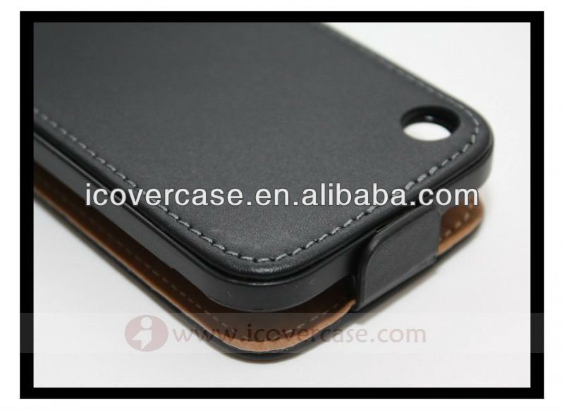 Genuine Leather flip Case for iPhone 3G,For iphone 3GS case
