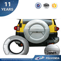 Newest For Toyota Fj Cruiser 07+ Spare Tire Cover Car Accessories ...