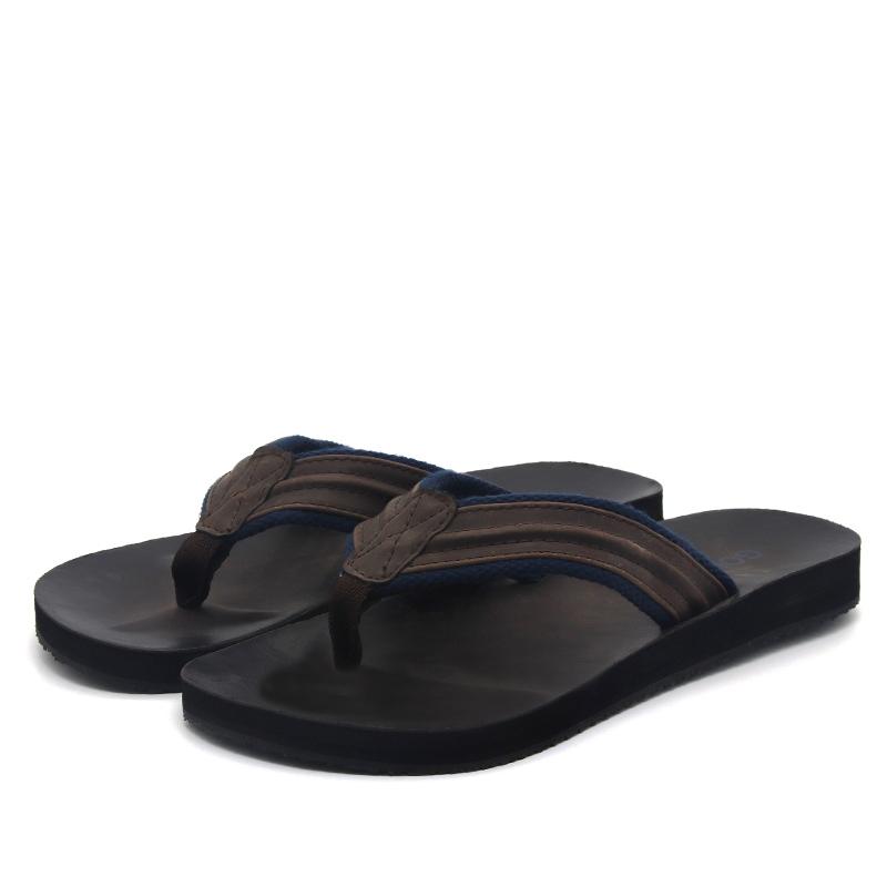 ed3ee4372923 pu men flip flop custom logo slipper high quality sandals casual durable  footwear beach outdoor