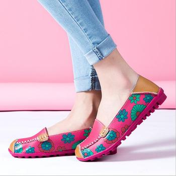 8a29a0fe5 new style beautiful lady shoes 2018 cheap flat round head fancy women shoes