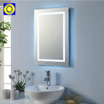 New Home Illuminated Led Mirror Light Fog Proof Smart Bathroom With Touch Screen Lighted