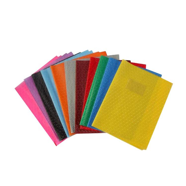 Raco venda Quente tamanho personalizado de plástico transparente pvc capa do livro